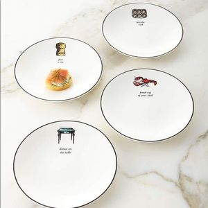 Kate space tidbit plates ♠️